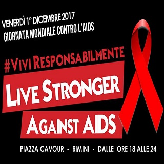 Live stranger against Aids