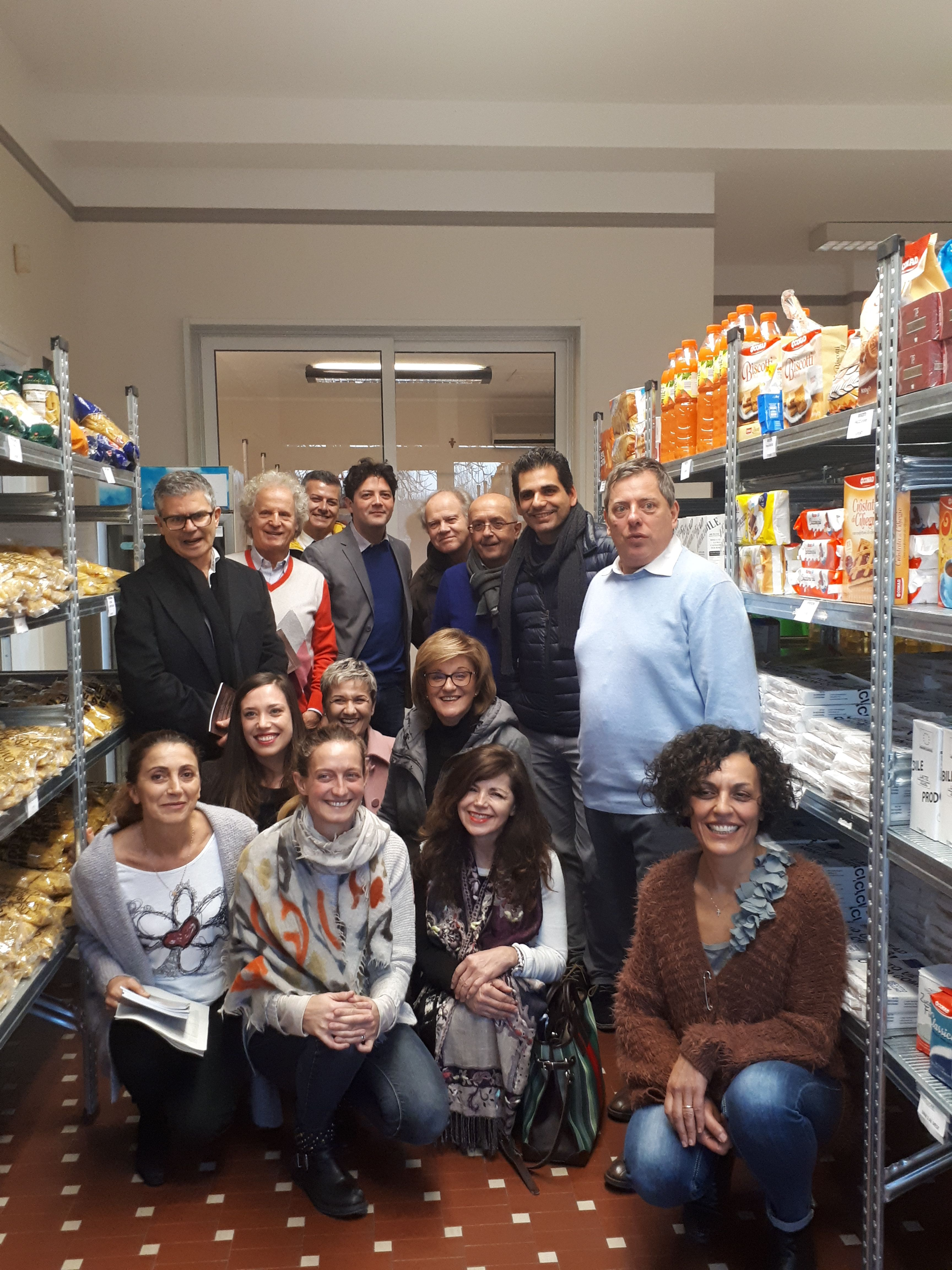 Lions Club Rimini in visita all'Emporio - 13 dicembre 2017