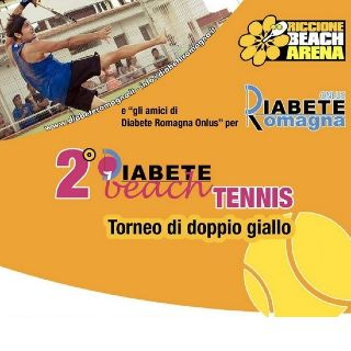 Diabete Beach Tennis